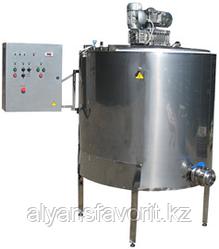 Ванна сыродельная (котел сыроварочный, сыроварня промышленная, паровая) ИПКС-022П(Н)