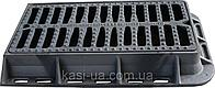 Люк полимерпесчаный дождеприемник прямоугольный Т 850/560/90 черный 25тн
