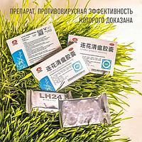 Противовирусное 24 капсулы Ляньхуа Цинвень Цзяонан Lianhua Qingwen Jiaonang