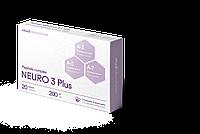 НЕЙРО 3 Плюс 20 (Neuro 3 Plus) нервная система и мозг мозг, сосуды, печень. Пептидный комплекс