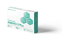 АНЕМО 3 Плюс 20 (ANEMO 3 Plus) для кроветворения организма костный мозг, тимус, сосуды.Пептидный комплекс
