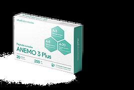 АНЕМО 3 Плюс 20 (ANEMO 3 Plus) для кроветворения организма – костный мозг, тимус, сосуды.Пептидный комплекс