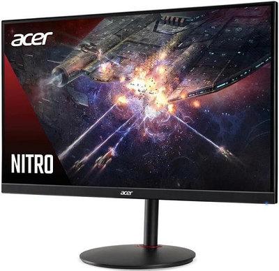 "Монитор 28"" Acer NITRO XV280Kbmiiprx, Black-Red"