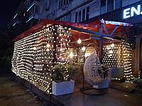 Услуги светового оформление кафе (элементы интерьера, фасад, летник, беседки, территория)