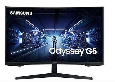 "Монитор 32"" SAMSUNG Odyssey G5 C32G54TQWI, Black"