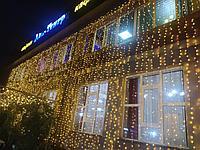 Услуги светового оформления торгового центра