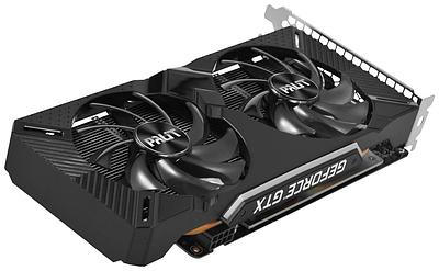 Видеокарта Palit GTX 1660 Dual, GeForce GTX1660, 1785MHz/8000MHz,192bit, 6 Gb GDDR5, DVI, HDMI, DP
