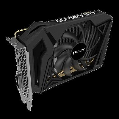 Видеокарта PNY GTX 1660 Super Single Fan, GeForce GTX1660, 1785MHz/14000MHz, 192bit, 6 Gb GDDR6, DVI-D, HDMI