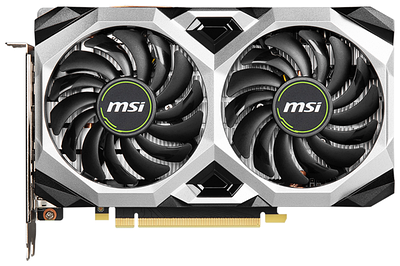 Видеокарта MSI GTX1660 Super Ventus, GeForce GTX1660S, 1785MHz/14000MHz, 192bit, 6Gb GDDR6, HDMI, 3xDP