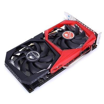 Видеокарта Colorful RTX 2060 NB-V, GeForce RTX2060, 1680MHz/14000MHz, 192bit, 6 Gb GDDR6, DP, DVI, HDMI