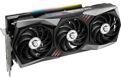 Видеокарта MSI RTX 3070 Ti Gaming X Trio, GeForce RTX3070Ti, 1830MHz/19000MHz, 256bit, 8 Gb GDDR6X, HDMI, 3xDP