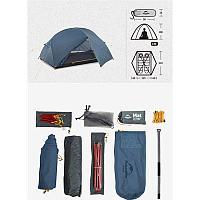 Сверхлегкая палатка Mongar Naturehike NH19M002-J