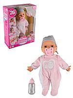Bayer Dolls: Интерактивная кукла-пупс Piccolina, 38см, с пустышкой и бутылочкой