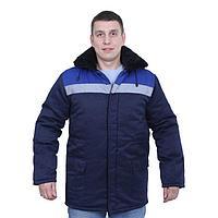 """Куртка """"Бригадир"""", размер 48-50, рост 182-188 см, цвет сине-васильковый"""