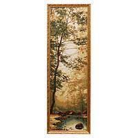 "Гобеленовая картина ""Лес изумрудный"" 35х110 см(38х113см)"