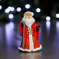 Фигура 'Дед Мороз в красной шубе' 8х6х12см