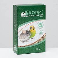 """Корм """"Пижон"""" овёс, для птиц и грызунов, 250 г"""