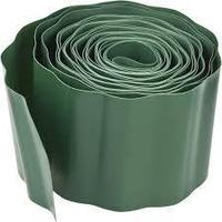 Лента бордюрная Palisad зеленая 20 см х 9 м