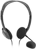 Наушники-гарнитура проводная Defender Aura HN-102 черный