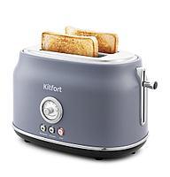 Тостер Kitfort КТ-2038-3 серый