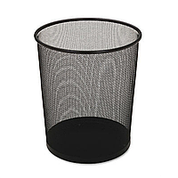 Корзина для мусора 10л, металл, сетка