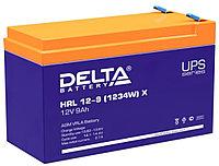 Аккумулятор Delta HRL 12-9 (1234W) X (12В, 9Ач), фото 1