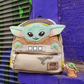 Рюкзак мини малыш Йода - Мандалорец