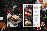 Меню для ресторанов, дизайн меню для кафе, фото 2