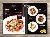 Меню для ресторанов, дизайн меню для кафе, фото 5