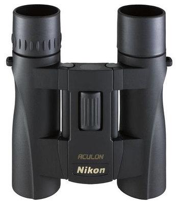 Бинокль Nikon Aculon A30 8x25, 8х, 25мм, чёрный