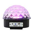 Диско-шар светодиодный Led Magic Ball. Светомузыка. Флешка. Пульт. Эквалайзер., фото 3