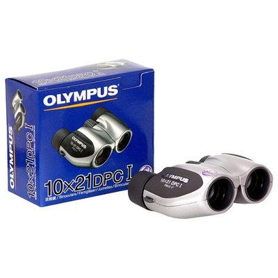Бинокль Olympus 10x21 DPC I, 10x, 21мм, серебристый - черный