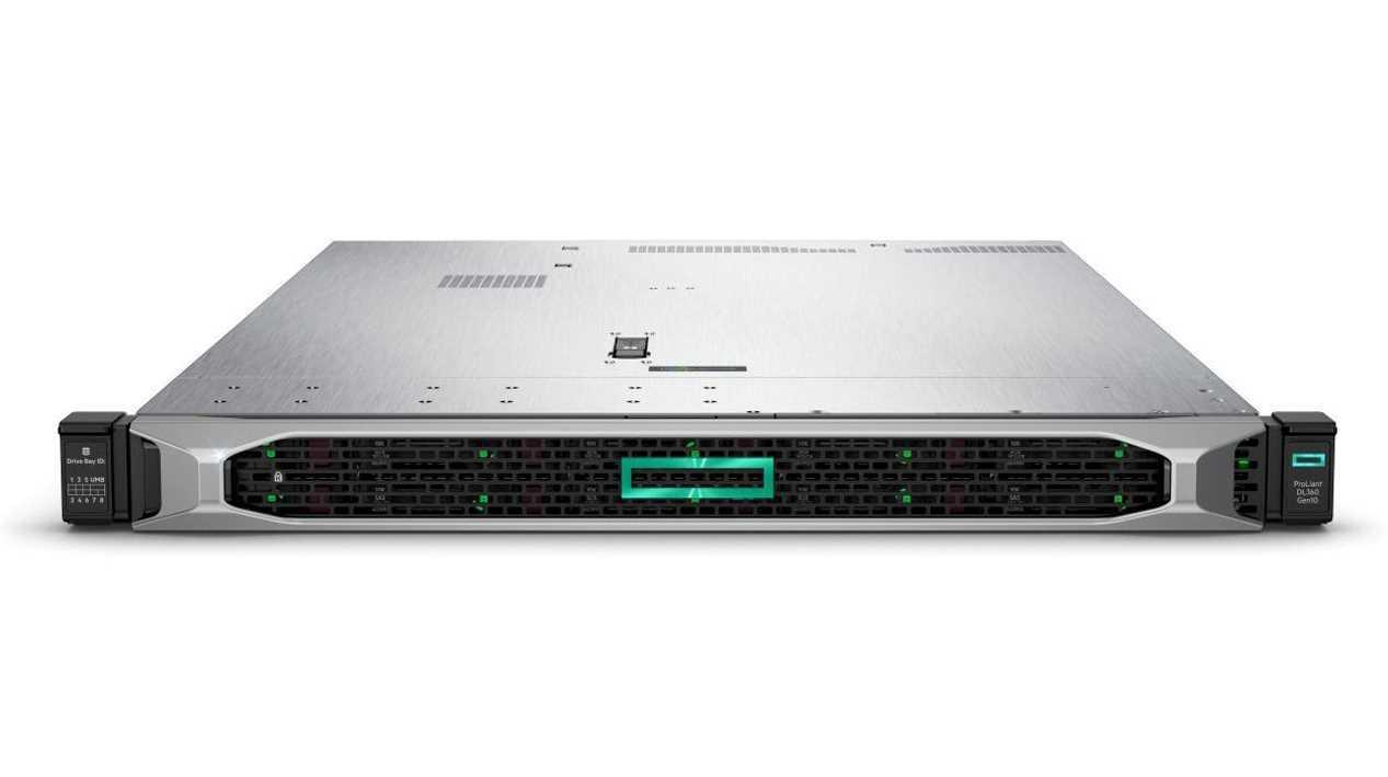 Сервер HPE DL360 Gen10, 1(up2)x 6248R Xeon-G 24C 3.0GHz, 1x32GB-R DDR4, S100i/ZM (RAID 0,1,5,10) noHDD (8/10+1