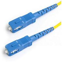 Патч-корд АЗОП SC/UPC-SC/UPC SM 9/125 Duplex 3.0мм 1м Оптоволоконный