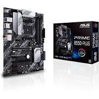 Материнская плата ASUS PRIME B550-PLUS AM4 4xDDR4 6xSATA 2xM.2 HDMI DP ATX