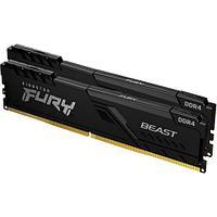 Комплект модулей памяти Kingston FURY Beast KF426C16BBK2/16 DDR4 16GB (Kit 2x8GB) 2666MHz