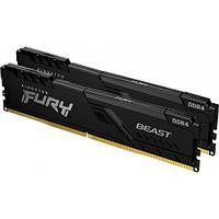 Комплект модулей памяти Kingston FURY Beast KF432C16BBK2/64 DDR4 64GB (Kit 2x32GB) 3200MHz
