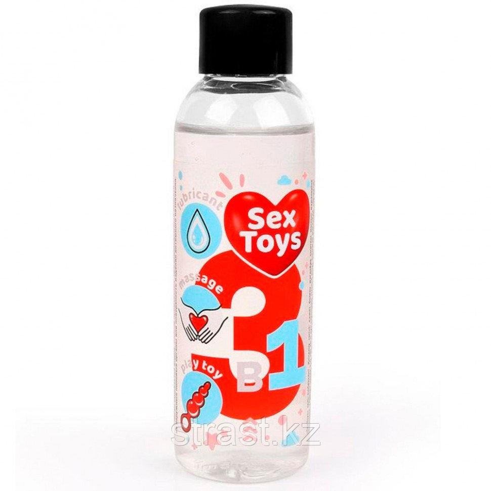 """Гель-лубрикант универсальный """"Sex Toys 3 в 1"""" 75 мл"""