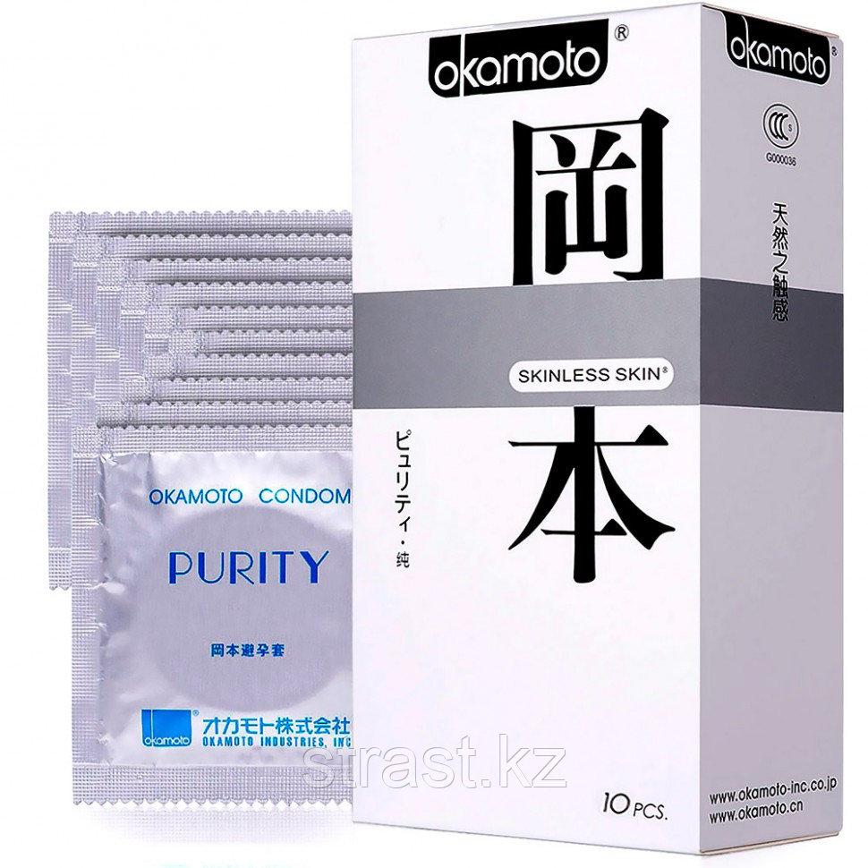 Презервативы Okamoto Skinless Skin Purity Классические (уп.10 шт, цена за штуку)