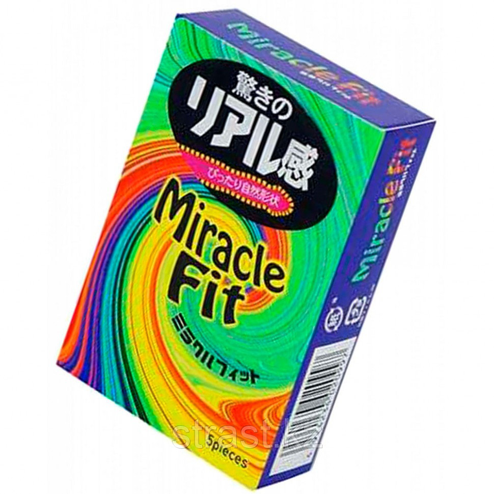 Презервативы Sagami Xtreme Miracle Fit (уп. 5 шт)