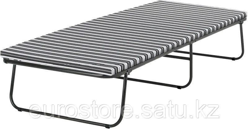 Раскладушка IKEA Силлинг 701.988.61 черный-белый