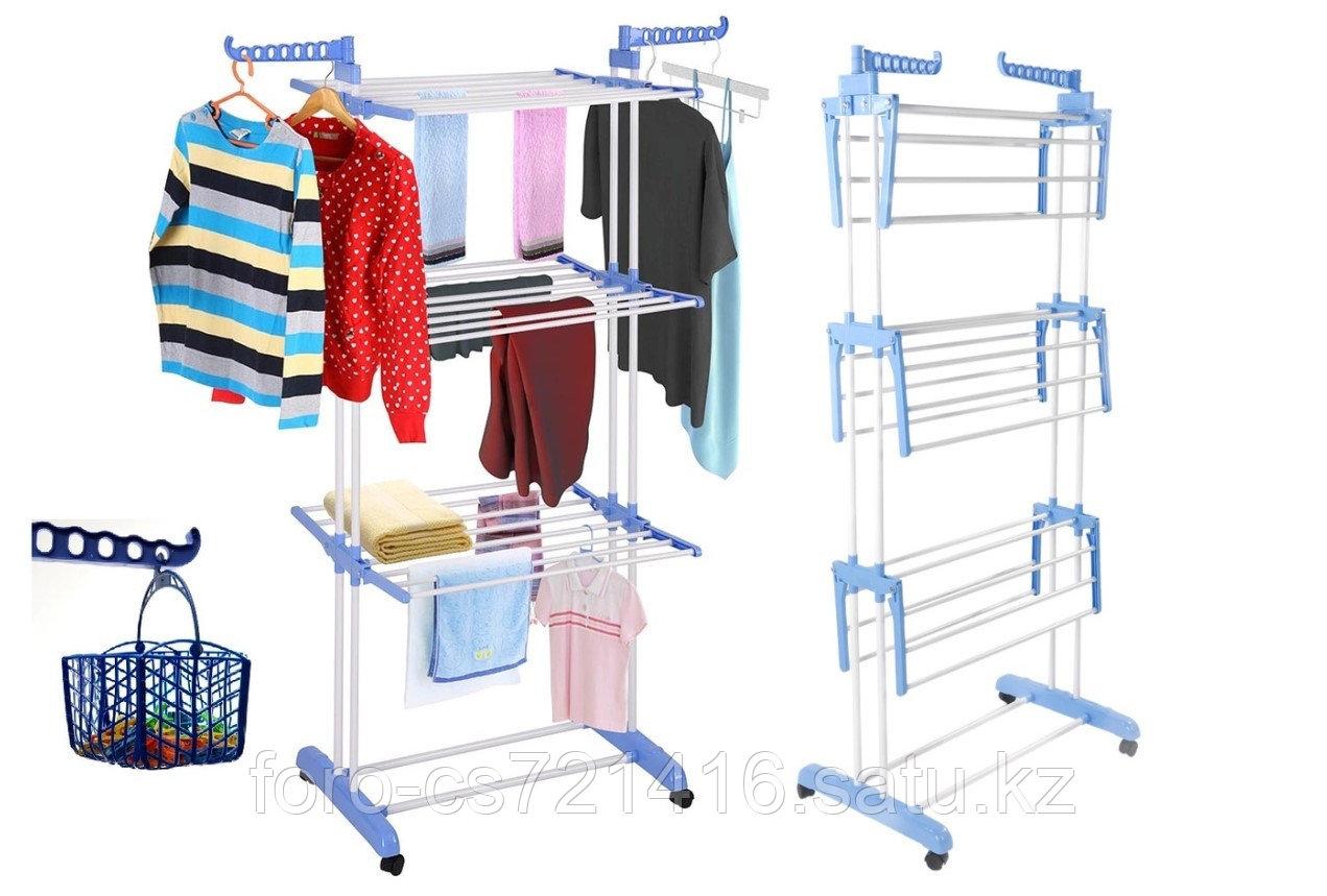 Сушилка Многофункциональная для одежды и обуви Мобильная Spray Painting Clothes Hanger 35м