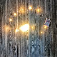 Декоративная гирлянда на батарейках 3,5,10 метров