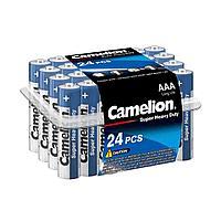 Батарейка CAMELION R03P-PB24B Super Heavy Duty. AAA. 1.5V. 550 mAh.