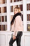 Женское шерстяное пальто с мехом песца, фото 4