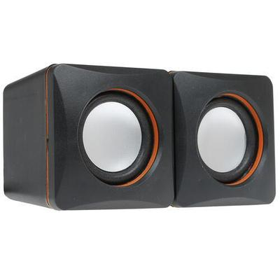 Колонки 2.0 Defender SPK-33 Черный/оранжевый