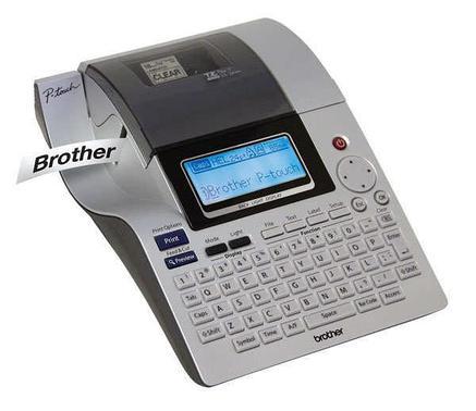 Принтер наклеек BROTHER PT-2700VP (PT2700VPR1) (кейс, адаптер питания, печать на термоусадке, связь с ПК), фото 2