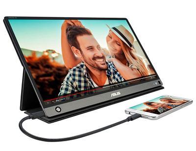 "Монитор Asus ZenScreen Go MB16AHP 15.6"" Black-Gray"