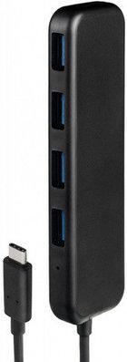USB-разветвитель для компьютера Rombica TC-00020, черный