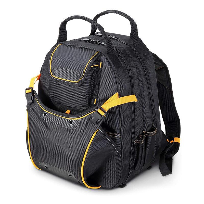 Рюкзак для инструментов 360х250х540 мм (3 отдела, 27 карманов, ортопед.спинка, усиленные лямки, до 35 кг)